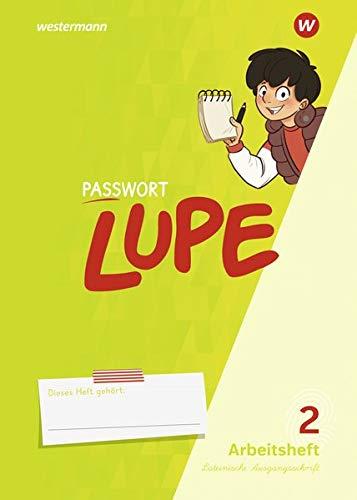 PASSWORT LUPE - Sprachbuch: Arbeitsheft 2 LA