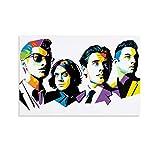 WUSOP Arctic Monkeys Logo Png Poster dekorative Malerei