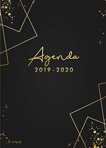 Agenda 2019-2020 18 meses: Organiza tu día - Agenda semanal - julio 2019 a diciembre 2020- español