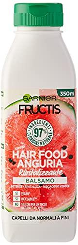 Garnier Fructis Hair Food Anguria Rivitalizzante, Balsamo per Capelli Fini, 97% di...