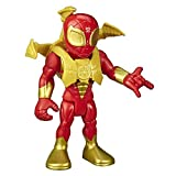 Super Hero Adventures Playskool Heroes Marvel Collectible 5' Iron Spider Action Figure with Spider-Arms Accessory, Toys for Kids Ages 3 & Up