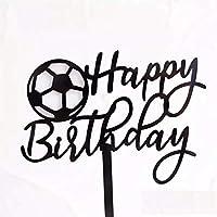 サッカー サッカーボール アクリル ケーキトッパー 誕生日ケーキ デコレーション ケーキ トッパー 誕生日 男の子 スポーツ デコレーションケーキ 記念写真 写真撮影 Limpomme オリジナルパッケージ