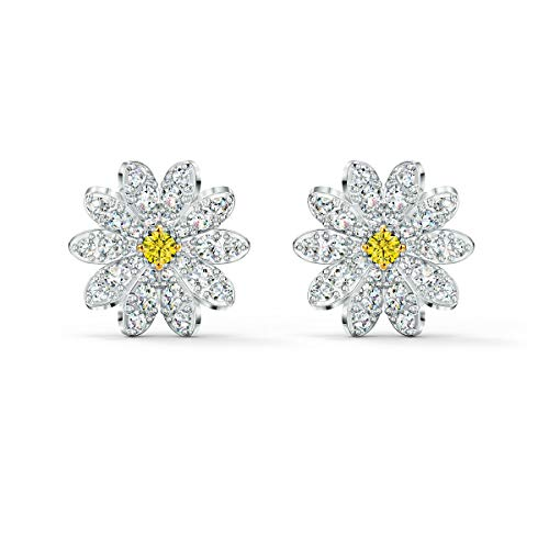 Swarovski Orecchini Stud Eternal Flower, giallo, mix di placcature