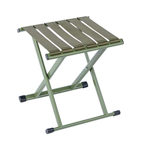 Iron Klappstuhl Sprühfarbe Ponyhocker, tragbarer Haushalts- / Außenhocker, Multifunktions-Tragfähigkeit 4