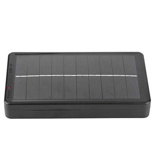 Toasses Mini Cargador de Panel Solar portátil Multifuncional de 5V 2W para batería Power Bank Teléfono móvil