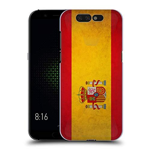 Head Case Designs Español De España Banderas Vintage Carcasa rígida Compatible con Xiaomi Black Shark