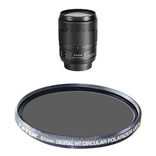 MORE UV + CPL + FLD Canon EF-M 55-200mm f//4.5-6.3 IS STM Lens White Box Black Lens 6PC Accessory Bundle + 6PC Graduated Filter Set Includes 3 Piece Filter Kit