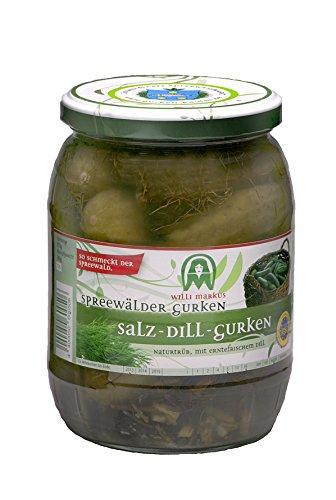 Spreewälder Gurken Markus Salz Dill Gurken 720 ml