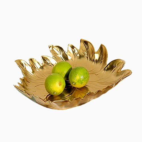 Fruit Bowls Fruit Basket Cake Stand, Round Wire Fruit Bowl, Modern Fruit Basket for Fruits, Vegetables and More, Practical Wire Basket for Kitchen and Storage, Gold /