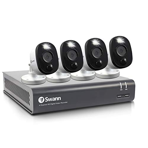 Swann 4 Channel 4 Camera Security System