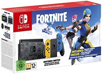 Nintendo Switch Fortnite Edition product image