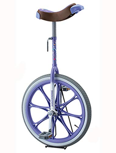 BRIDGESTONE(ブリヂストン) スケアクロウ 一輪車(スタンド付) 20インチ(SCW20) [ラベンダー(LV)]