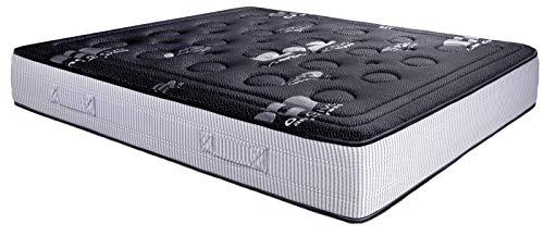 Colchón ViscoCarbono Active Gel 150 x 180 x 28cm de Grosor