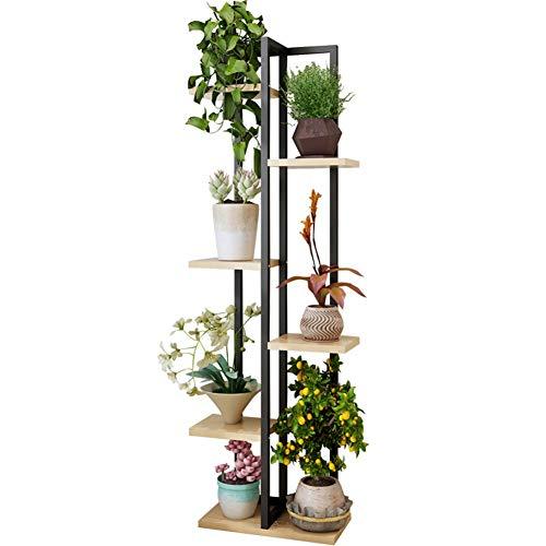 XIN Jardin Stand De Fleurs Bois D'acier Multicouche Intérieur Salon Chambre Gain De Place Au Sol Étagère À Fleurs
