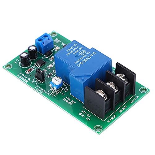 Interruptor de temporizador, módulo de relé de retardo Fiabilidad robusta con fuente de alimentación Función de protección anticonexión para uso doméstico o al aire libre