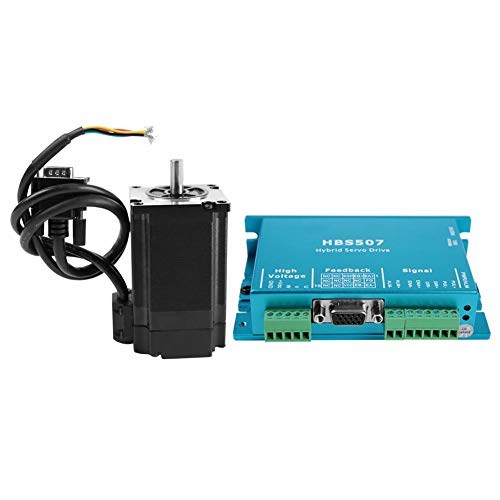 2Nm Closed Loop Hybrid Servomotor Schrittmotor HBS507 & 573HBM20 1000 57mm Servotreiber Controller CNC Kit