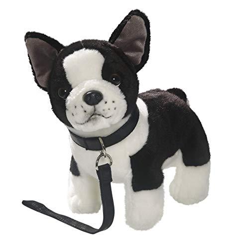 Carl Dick Peluche - Perro Bulldog francés con Correa de Perro de Peluche (Felpa, 25cm) 3360