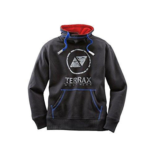 TERRAX WORKWEAR Sweatshirt, Farbe schwarz/royal, Gr.M