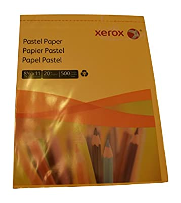 Multipurpose Colored Copy Paper, 20 Lb., 8 1/2in. x 11in., Goldenrod, Ream Of 500 Sheets