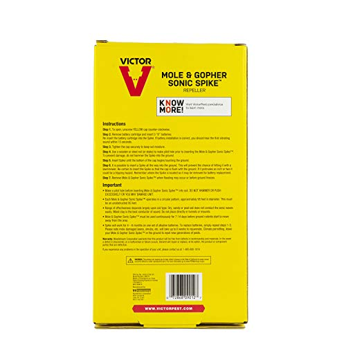 Victor M9012 Sonic 2 Spike, Yellow