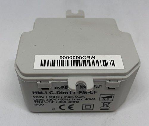 Homematic CLC Modul HM-LC-DIM1-T-FM-LF FUNK DIMMAKTOR Dimmer