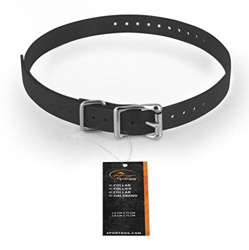 SportDOG Halsband wetterfest + rostfest, für Jagd- und hunde, Halsumfang 12,7 cm - 55,9 cm, 1,9 cm breit, grau