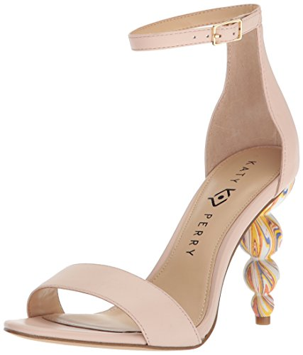 Katy Perry Damen The Tabitha Sandalen mit Absatz, Nude, 39.5 EU