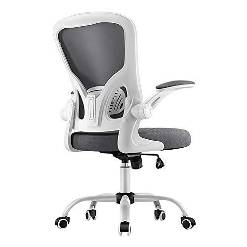 Ergonomischer Büro-Computer-Stuhl, Hauptdrehstuhl-Spiel-Stuhl-Schreibens-Stuhl-Rückseiten-Kursteilnehmer-Schreibtisch-Stuhl-grey