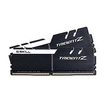 G.SKILL Trident Z Series 16GB  2 x 8GB  288-Pin DDR4 3200  PC4 25600  CL16-18-18-38 1.35V Desktop Memory F4-3200C16D-16GTZKW