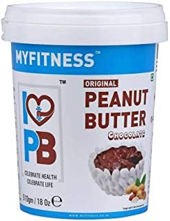 MYFITNESS Chocolate Peanut Butter 1.02kg (510gm X Pack of 2)