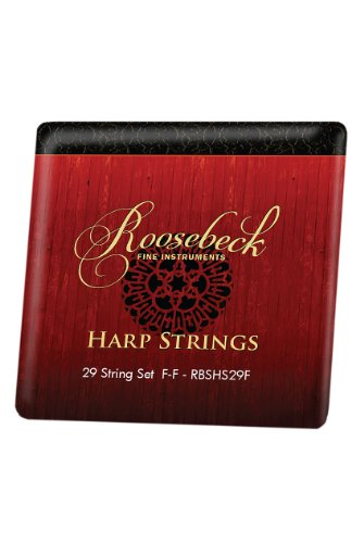 Gothic Harp String Set - Color Coded