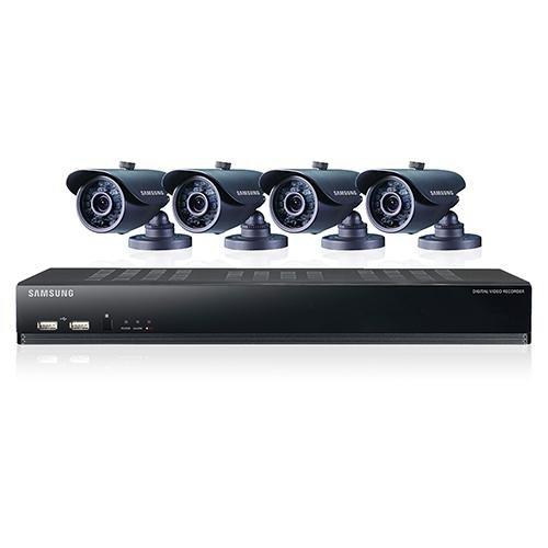 Samsung SDS-V4040P/EX - Kit todo en un 8 vías / 4 cámaras