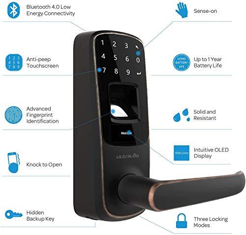 Ultraloq UL3 Fingerprint and Touchscreen