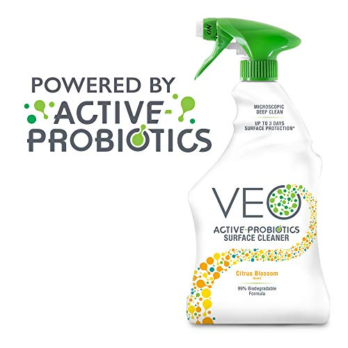 VEO Active-Probiotics All Purpose Cleaner Spray 22 Oz, Citrus Blossom Scent, MultiSurface Cleaner, Multipurpose Cleaner