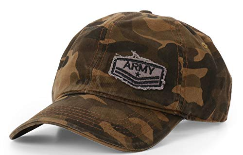 ADBUCKS Army Denim Stylish Cotton Embroidered Adjustable Baseball Cap for Adult Men & Women (Unisex)