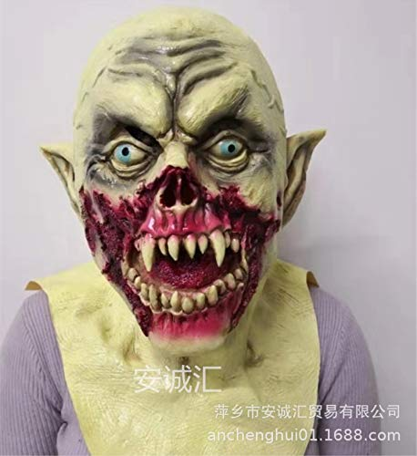 Halloween Adulto Cosplay Fiesta de Maquillaje Horror látex tocados Diablo Bio Zombie...