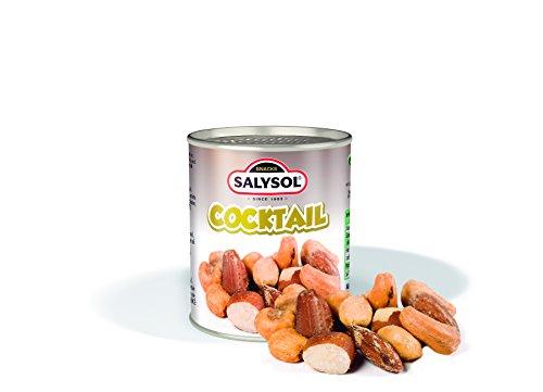 Coctel de Frutos Secos 50 g Salysol (Pack 10 latas)