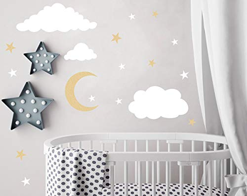 Top 10 moon wall decal gold for 2020
