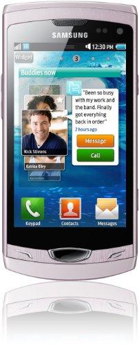 Samsung Wave II S8530 Smartphone (9,5 cm (3,7 Zoll) Display, Touchscreen, 5 Megapixel Kamera)elegant-pink