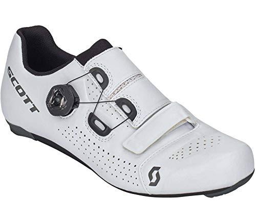 Scott Road Team Boa Rennrad Fahrrad Schuhe weiß/schwarz 2021: Größe: 45