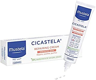 Mustela Cicastela Moisture Recovery Cream Multipurpose Ointment for Skin Discomfort, 40ml