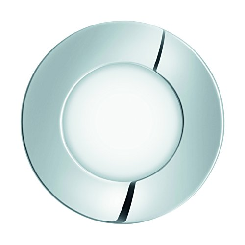 EGLO 96053 A++ to A, Einbauspot, Integriert, Weiß/Chrom, 8.5 x 8.5 x 3 cm