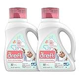 Dreft Stage 2: Active Hypoallergenic Liquid Baby Laundry Detergent for Baby,...