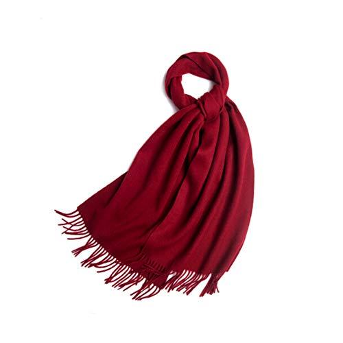 OHMTJP vrouwen kasjmier sjaal sjaals en wraps golvend ontwerp warme winter meer dikkere zachte sjaals voor vrouwen
