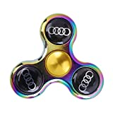 Seashell Audi Fidget Metallic Wind Spinner Stress Reducer Anti Anxiety for Children and Adults