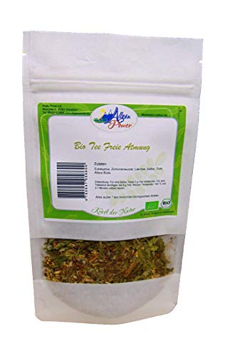 Bio Tee - Freie Atmung - 120 g - mit Eukalyptus und Tulsi