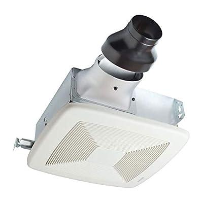 Broan-NuTone LP110 Lo-Profile Bathroom Ventilation, Energy Star Certified, 110 CFM Bath Fan, White