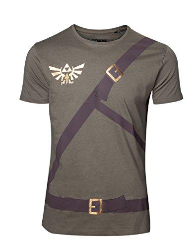Bioworld The Legend of Zelda T-Shirt pour Homme Link Belt Maat XL