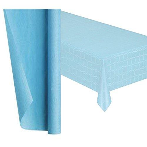 Blu Creative Convertting Tovaglia Carta 137 x 274 cm Azzurro Pastello Pastel Blue Taglia Unica