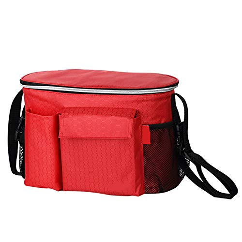 DZHTWSRYGR Baby Stroller Storage Bag Baby Stroller Storage Bag Diaper Bag Hook Hanging Waterproof Bottle Bag Tote Bag